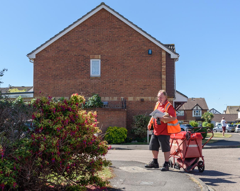 The Postman, key worker